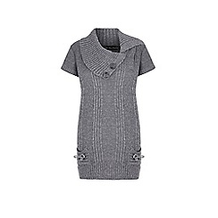 Iska - Grey knitted jumper dress