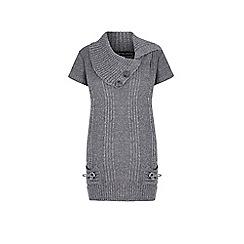 Iska - Grey knitted jumper dress