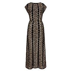 Iska - Black lace maxi occasion dress