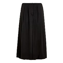 Iska - Black wide leg trousers