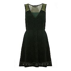 Iska - Mesh and lace dress