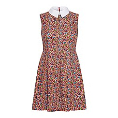 Iska - Paisley print collar dress