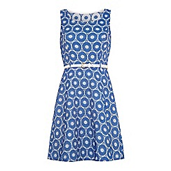 Iska - Circle print belted dress