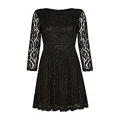 Iska - Lace and glitter dress