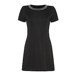 Iska - Embellished neck dress