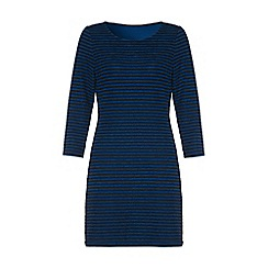 Iska - Blue striped bodycon dress