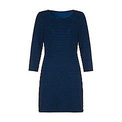 Iska - Blue striped bodycon dress
