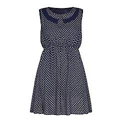 Iska - Printed sleeveless dress.