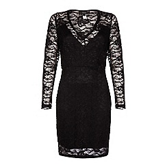 Iska - Sheer lace dress