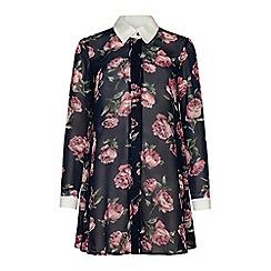 Iska - Floral shirt dress.