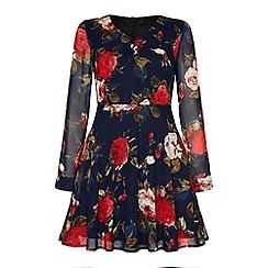 Iska - Rose printed dress.