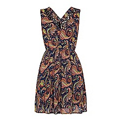 Iska - Paisley and lace dress