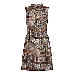Iska - Printed shirt dress