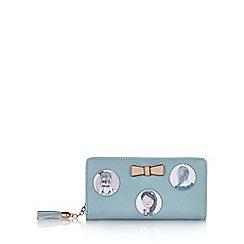 Yumi - Blue lady printed wallet