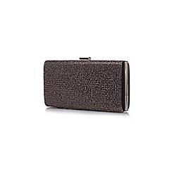 Yumi - Black Sparkle Clutch Bag