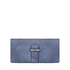 Yumi - Navy bow detailed wallet