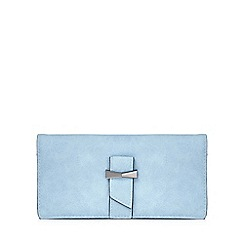 Yumi - Blue bow detailed wallet