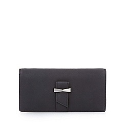Yumi - Black bow detailed wallet