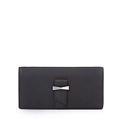 Yumi - Black bow detailed wallet