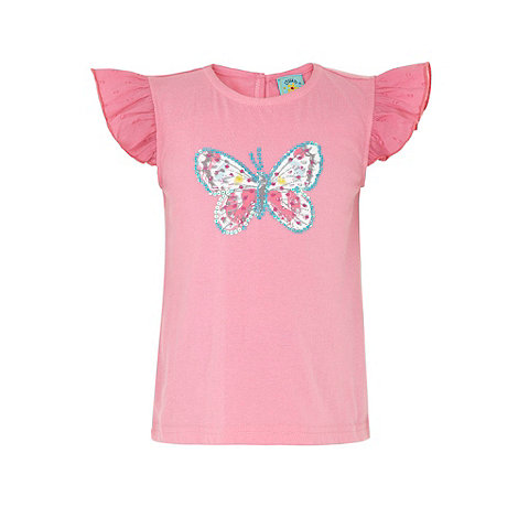 Uttam Kids - Cream Butterfly t-shirt