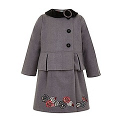 Uttam Kids - Rose peplum coat