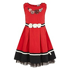 Uttam Kids - Plain bow dress