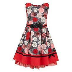 Yumi Girl - Printed bow dress