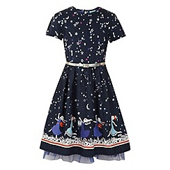 Uttam Kids - Star printed hem dress