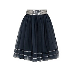 Uttam Kids - Sequin mesh skirt