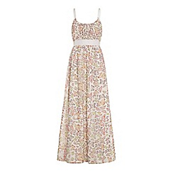 Uttam Boutique - Butterfly print maxi dress