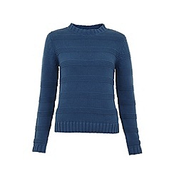 Uttam Boutique - Textured stripe jumper