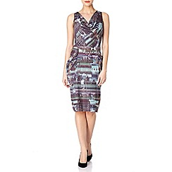 Uttam Boutique - City print dress