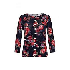 Uttam Boutique - Floral print cardigan
