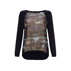 Uttam Boutique - City print jumper