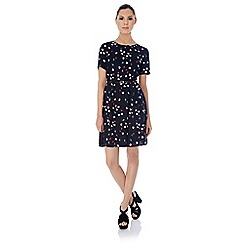 Uttam Boutique - Trio lapin print dress