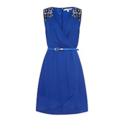 Uttam Boutique - Crochet lace insert dress