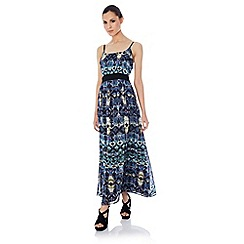 Uttam Boutique - Tribal print maxi dress