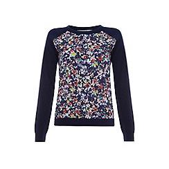 Uttam Boutique - Kandinsky ditsy floral knit top
