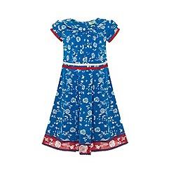 Uttam Kids - Floral tea dress