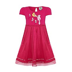 Uttam Kids - Bird print party dress.