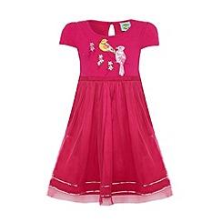 Uttam Kids - Bird print party dress.