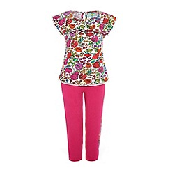 Uttam Kids - Floral top and leggings.