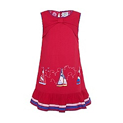 Uttam Kids - A-line boat dress.