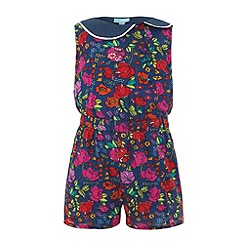 Uttam Kids - Floral garden play-suit