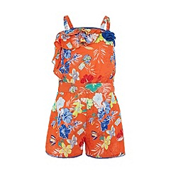 Uttam Kids - Tropical print play-suit