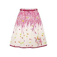 Uttam Kids - Wisteria print skirt