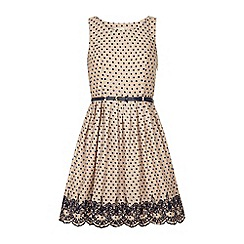 Yumi - Polka dot sun dress