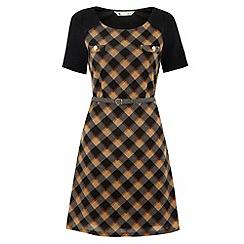 Yumi - Check mate dress
