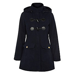 Yumi - Duffle coat with detachable hood