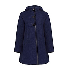 Yumi - Hooded duffle coat
